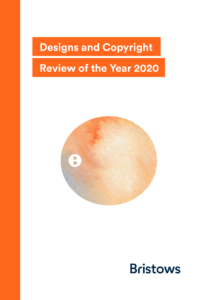 Designs and Copyright Review of the Year 2020